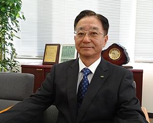 代表取締役 社長 下田 栖嗣 写真